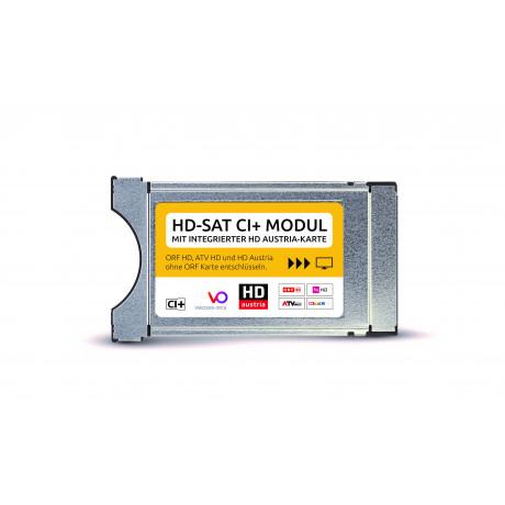 HD-SAT CI+ Modul für ORF mit integrierter HD Austria-Karte (CARDLESS) 3 Monate HD Austria  gratis